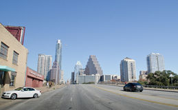 Downtown Austin Texas skyline Royalty Free Stock Images