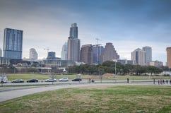 Downtown Austin Texas stock photos