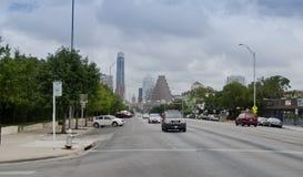Downtown Austin Texas. South Congress street in Austin, Texas Stock Image