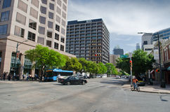 Downtown Austin, Texas royalty free stock images