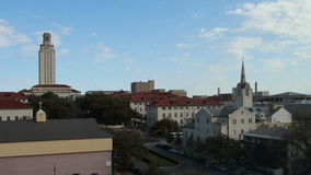 Downtown austin timelapse stock footage