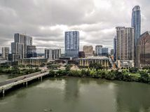 Downtown Austin TX Royalty Free Stock Images