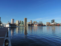 Downtown Baltimore skyline Royalty Free Stock Image