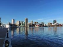 Downtown Baltimore skyline Royalty Free Stock Image