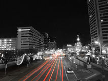 Downtown Baltimore Traffic royalty free stock photos