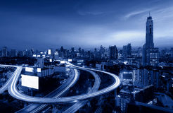 Downtown Bangkok Highway, Thailand Stock Photos