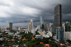 Downtown of Bangkok. Royalty Free Stock Images