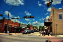Downtown Bastrop Royalty Free Stock Photos