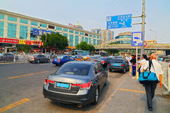 Downtown beijing, china Stock Photos