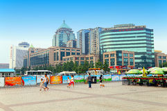 Downtown beijing, china Stock Images