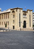 Downtown Beirut, Lebanon. Parliament Building in downtown Beirut, Lebanon Royalty Free Stock Photography