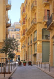 Downtown Beirut, Lebanon (HDR) stock photography