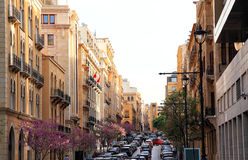 Downtown Beirut Royalty Free Stock Photography