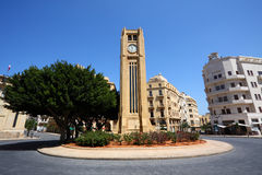 Downtown Beirut, Wide-Angle View Stock Photography