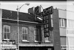 Downtown Belleville circa 1970