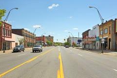 Downtown Benton Harbor Michigan Royalty Free Stock Photos