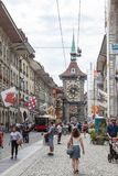 Downtown of Bern, Switzerland Royalty Free Stock Photo