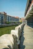 Downtown Bilbao Stock Photography