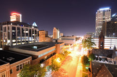 Downtown Birmingham Stock Photo