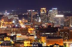 Downtown Birmingham, Alabama. Metropolitan Skyline of downtown Birmingham, Alabama, USA Royalty Free Stock Images