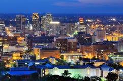 Downtown Birmingham Skyline Royalty Free Stock Image