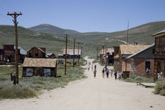Downtown Bodie Royalty Free Stock Photos