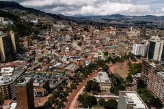 Downtown Bogota City Royalty Free Stock Image