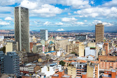 Downtown Bogota, Colombia Royalty Free Stock Photography