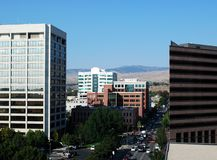 Downtown Boise Stock Image