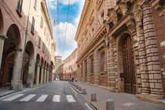 Downtown Bologna Stock Photos