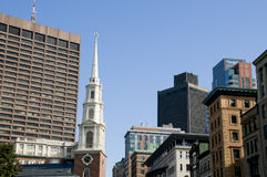 Downtown Boston Stock Photos