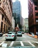 Downtown Boston royalty free stock photo