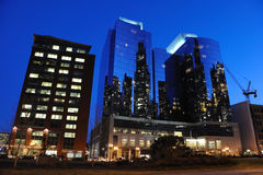 Downtown in Boston, MA Stock Image