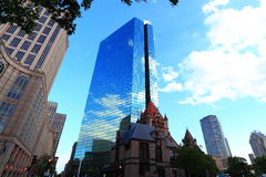 Downtown Boston Royalty Free Stock Images