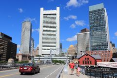 Downtown Boston Stock Images