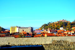 Downtown Brasov Royalty Free Stock Photography
