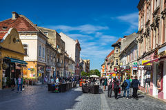 Downtown of Brasov, Romania Stock Photos