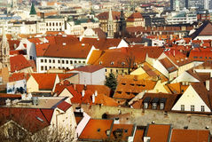 The downtown in Bratislava Stock Photos