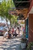 Downtown Brevard, North Carolina stock photo