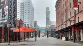 Downtown bromotower camden yards. Camdenyards baseball downtown Royalty Free Stock Photo