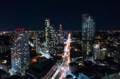 Downtown Brooklyn Rooftop View Stock Images