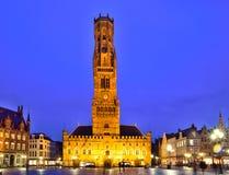 Downtown, Brugge, Belgium Stock Image