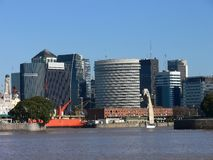 Downtown Buenos Aires Royalty Free Stock Images