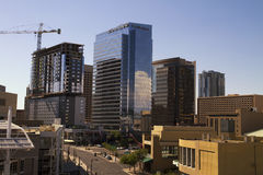 Downtown Buildings of Phoenix Arizona Stock Photos