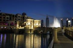 Downtown Burj Khalifa, Dubai Royalty Free Stock Photos
