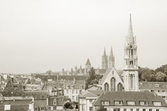 Downtown Caen, Normandy Stock Image