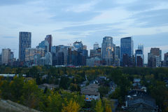 Downtown calgary Royalty Free Stock Photo