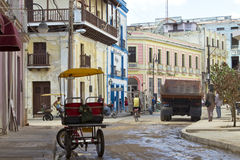 Downtown Camaguey, Cuba Stock Images