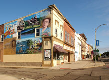Downtown Canandaigua Stock Photography