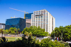Downtown of Cape Town, South Africa Royalty Free Stock Images